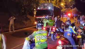 Identifican víctima fatal de accidente de tránsito en Socorro - Caracol Radio