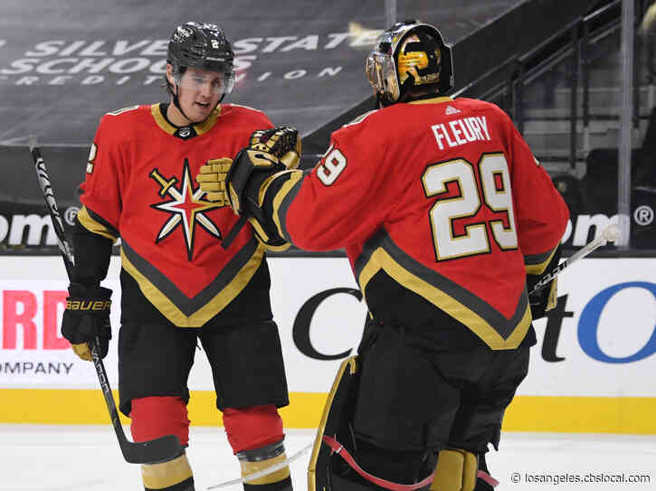 Whitecloud Scores Late, Lifts Vegas To 5-4 Win Over Ducks
