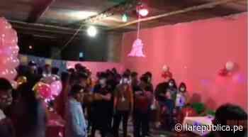 Lambayeque: intervienen a 60 jóvenes en un quinceañero en Mórrope - LaRepública.pe