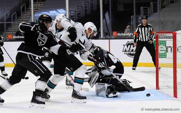 Sharks Score Late, Then Sink Kings 4-3 In Shootout