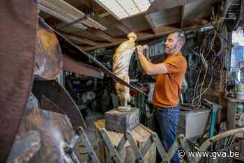 Over de vloer bij kunstenaar Bart Vankrunkelsven (Herselt) - Gazet van Antwerpen