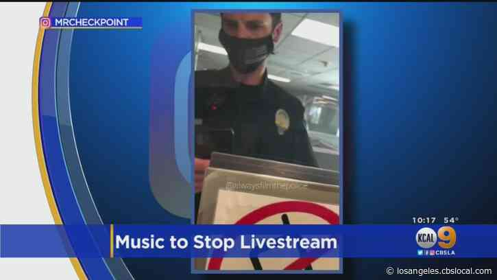 Beverly Hills Sgt. Accused Of Playing Copyrighted Music While Being Filmed To Trigger Social Media Feature That Blocks Content