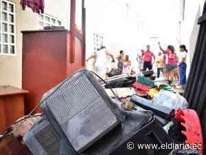 Una vela habría causado incendio en el reasentamiento del Guabito   El Diario Ecuador - El Diario Ecuador