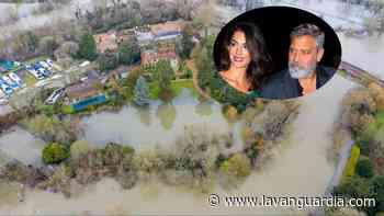 El Támesis vuelve a inundar la finca inglesa de George Clooney - La Vanguardia