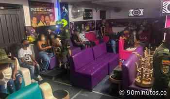 Previas : Desactivan fiesta con más de 60 personas en Santander de Quilichao - 90 Minutos