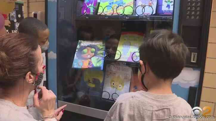 New Jersey Elementary School's Book Vending Machine An Innovative Project, And Pandemic Distraction