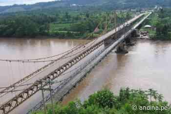 Ucayali: en alerta roja el río Alejandro tras aumentar su nivel esta tarde - Agencia Andina