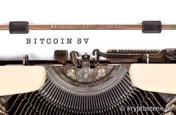 Bitcoin SV Kurs Prognose: BSV/USD-Kurs explodiert – 185 Prozent Wachstum in einer Woche - Kryptoszene.de
