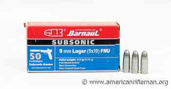 Preview: Barnaul Subsonic 9mm - American Rifleman