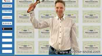 Stefan Waldhauser läutet die Opening Bell für Mittwoch #smeil #chooseoptimism | boerse-social.com - Boerse Social Network
