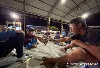 Huaquillas, el refugio improvisado de por lo menos 1.000 migrantes - expreso.ec
