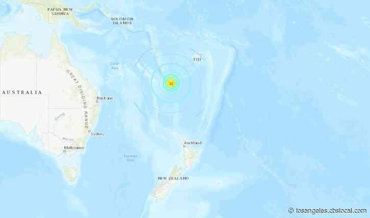 No Tsunami Danger For Calif. After 7.7M Quake North Of New Zealand