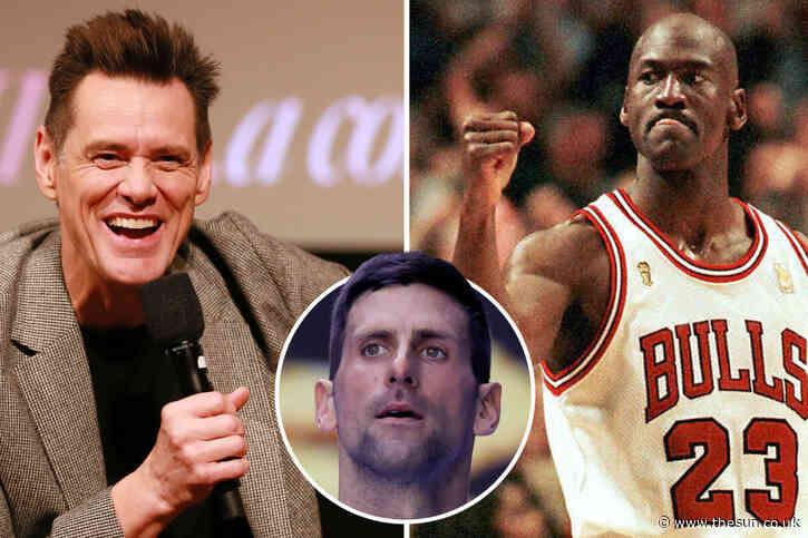 Djokovic names dream dinner date pair as NBA legend Michael Jordan and Hollywood funnyman Jim Carrey