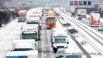 Strenger Winter hat Niedersachsen fest im Griff - Süddeutsche Zeitung