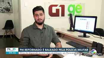 PM reformado é baleado por policiais militares em Paracambi - G1