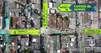 Desde el 16 de febrero cambios en cuatro tramos de Campohermoso - Eje21