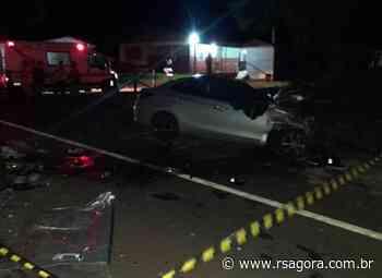 Grave acidente deixa vítima fatal na ERS-343, em Cacique Doble - RS Agora