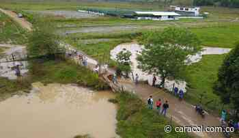 22 veredas en Vegachí y Yalí incomunicadas por el colapso de un puente - Caracol Radio