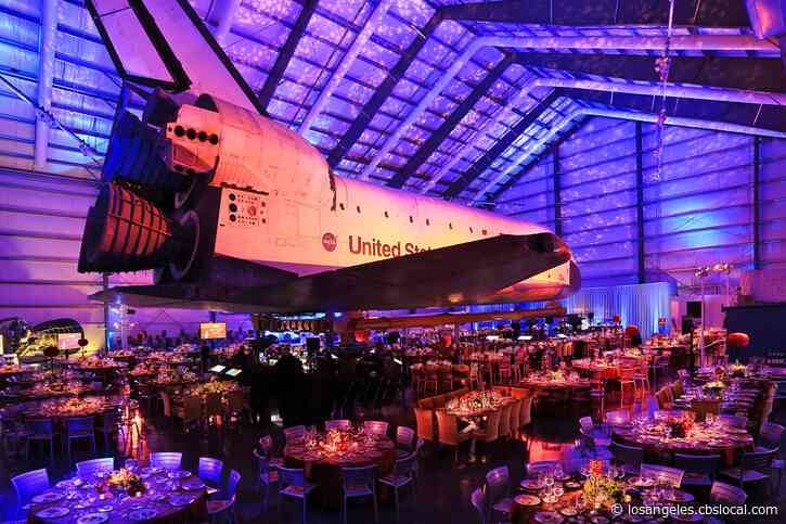 California Science Center Makes Home Of Space Shuttle Endeavour Available For Weddings