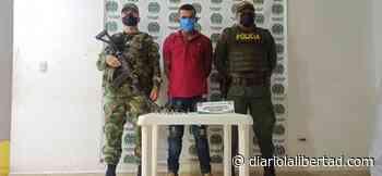 """En Tiquisio, sur de Bolívar, vuelven a capturar a alias """"Toreto"""", presunto integrante del clan del golfo - Diario La Libertad"""