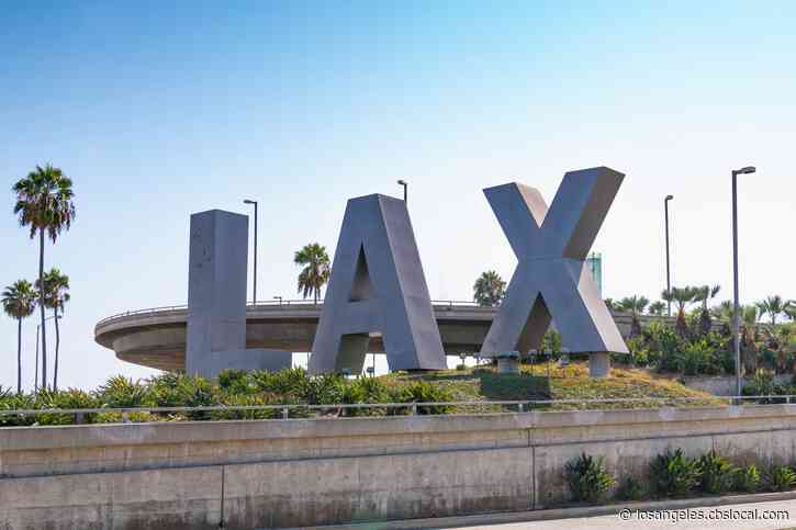 Pedestrian Bridge Removed At LAX To Clear Way For Modernization Project, People Mover