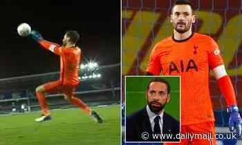 Rio Ferdinand slams Hugo Lloris' 'embarrassing' and 'weak' attempt to save Calvert-Lewin's equaliser