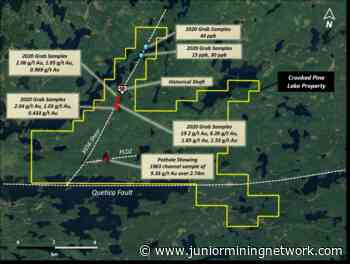 Frontline Gold Acquires Key Claims at its Crooked Pine Lake Property, Atikokan, Ontario - Junior Mining Network