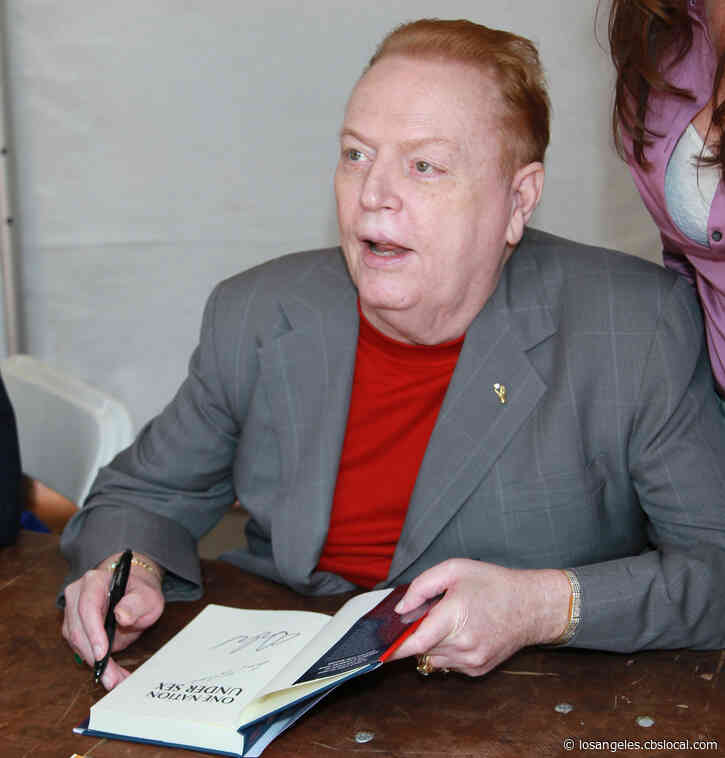 Porn King Larry Flynt, Founder Of Hustler Magazine, Dead At 78