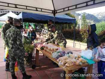 Primer mercado campesino presencial en Chitagá - Canal TRO