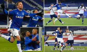 Everton 5-4 Tottenham: Super-sub Bernard seals extra-time victory in FA Cup fifth round THRILLER