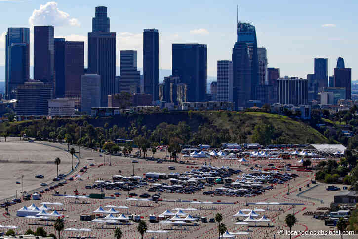 Dodger Stadium, 4 Other City-Run COVID-19 Vaccine Sites To Temporarily Close Due To Supply Shortage
