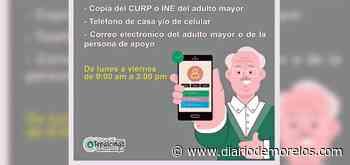 Tepalcingo ayudará a adultos mayores a registrarse para vacuna COVID19 - Diario de Morelos