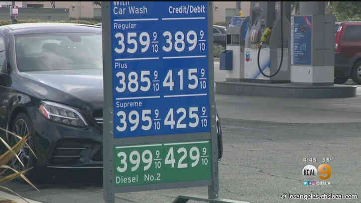 Gas Prices Hit Pre-Pandemic Levels As Other Expenses Like Food, Housing Continue To Climb