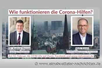 """""""Wie funktionieren die Corona-Hilfen?"""" - Niels Annen im Gespräch - Eimsbütteler Nachrichten"""