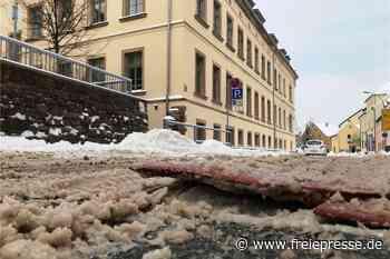 Berliner Kissen behindern Verkehr in Hainichen - Freie Presse