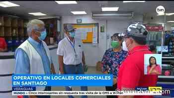 Autoridades realizan operativos de bioseguridad en Santiago, provincia de Veraguas - TVN Panamá