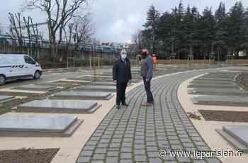 Lognes : un nouveau cimetière paysager, où se recueillir et se promener, enserre le site historique - Le Parisien