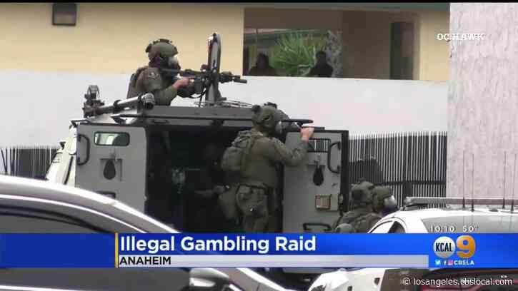 Anaheim SWAT Team Raids Illegal Gambling Ring In Furniture Store