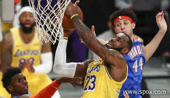 NBA: LeBron James rettet die Los Angeles Lakers in der Overtime - starker Giannis reicht den Bucks nicht - Bulls schießen alle Lichter aus - SPOX.com