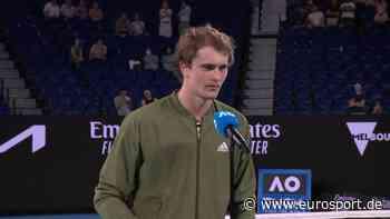 "Australian Open - Alexander Zverev scherzt: ""Kevin Hart sollte mich im Film spielen"" - Eurosport DE"