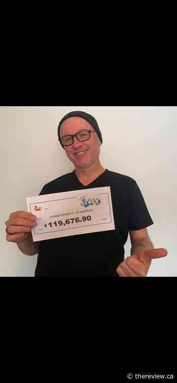 Embrun man wins more than $100000 in lottery - The Review Newspaper