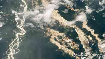 Stunning NASA photo shows 'gold' Peruvian Amazon rivers -- but there's a dark backstory
