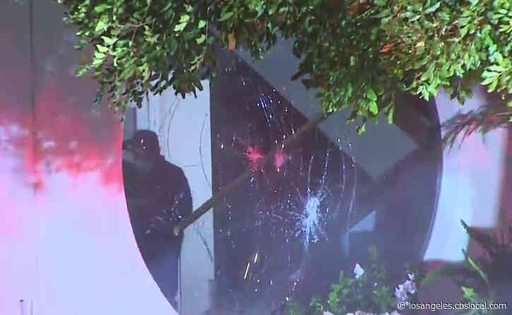 1 Arrested In Break-In, Fire At North Hills Office Building