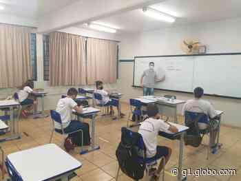 Santa Cruz do Rio Pardo retoma aulas presenciais na rede municipal de ensino - G1