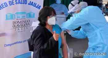 Chupaca, Chanchamayo, La Oroya y Jauja también cumplen con inoculación contra el COVID-19 - Diario Correo