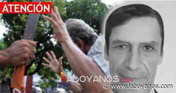 Judicialsaladoblanco A machete asesinaron a un adulto mayor por robarlo en Saladoblanco, Huila - Laboyanos.com