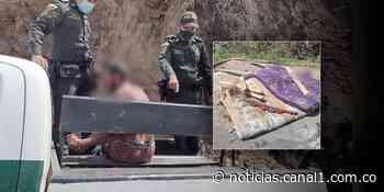 Hombre asesinó a su madre de 76 años en Abejorral, Antioquia - Canal 1