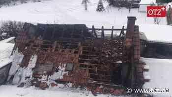 Bautischlerei in Rottenbach in Brand geraten - Ostthüringer Zeitung