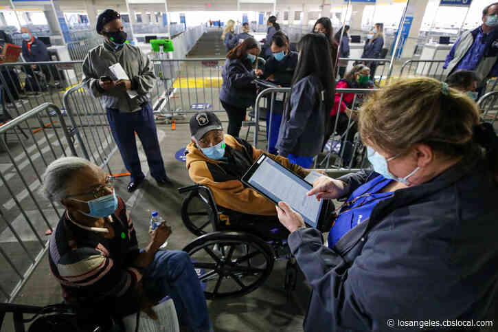 $823 Million FEMA Grant To Support Operation Of 104 Community Vaccination Sites In California