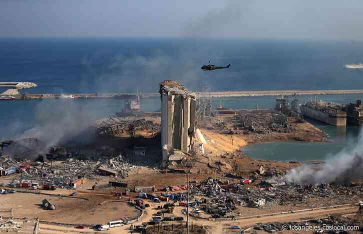 Cedars Relief Effort Sending Medical Supplies To Beirut Blast Victims